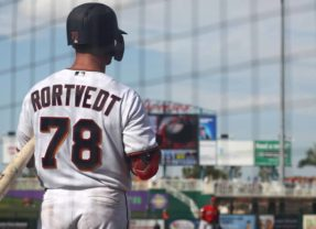 Rortvedt Reports to Big League Spring Training